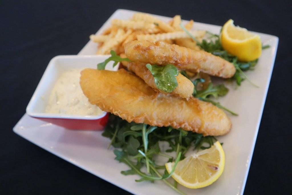 corona battered fish & chips